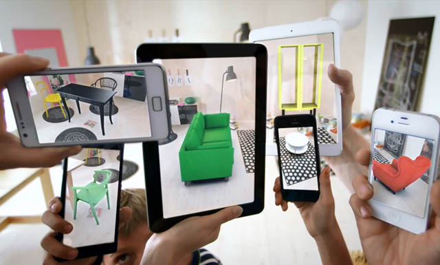 Augmented Reality Anwendung IKEA
